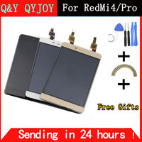 Q Y QYJOY For Xiaomi Redmi 4 Pro LCD Display Touch Screen Digitizer Sensor Assembly Replacement