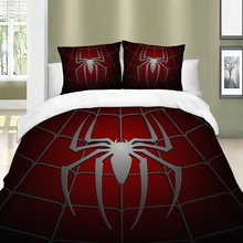 3D spider Bedding Set red Duvet Cover twin queen king size Bedclothes 3pcs Home Textiles