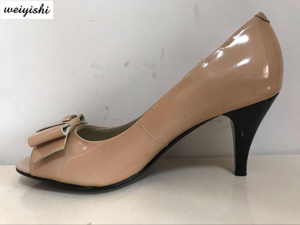 2018 kobiet w nowym modne buty. Buty damskie, marka weiyishi 038 w Buty damskie na słupku od Buty na  Grupa 1