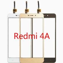 5.0 lcd 디스플레이 터치 스크린 xiaomi redmi 4 4a 터치 스크린 패널 전면 외부 유리 센서 디지타이저 4 a 전화 예비 부품