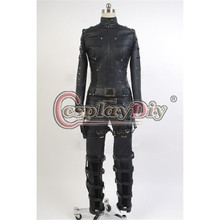 Custom Made Green Arrow Season 3 Black Canary Laurel Lance Outfit Hero Jacket Pants Adult Women Halloween Cosplay Costume D0427