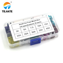 Car-Fuses with Box Clip-Assortment Auto-Blade Type Truck 50PCS 35A 40a-Amp 25A MINI 30A