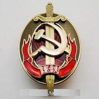 מדליית רוסיה ברית המועצות סיכת דש תג סמל אדום מהפכני המפלגה הקומוניסטית צבאי LS3 רבייה