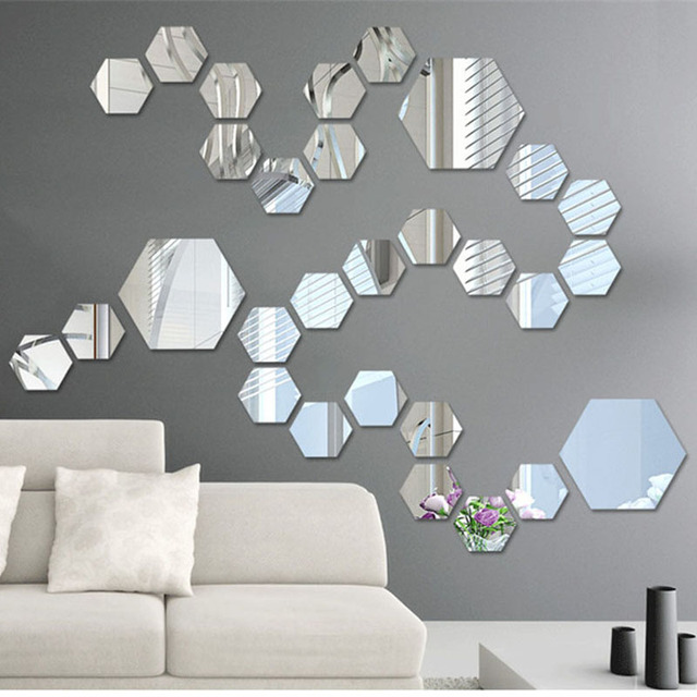 Mirror art wall decor