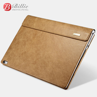 Shenzhou Genuine Leather Detachable Flip Case For Microsoft Surface Book 13 5 Luxury Leather Cover Protective