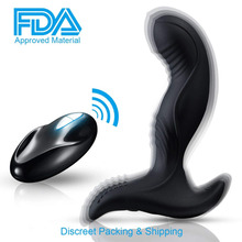 Remote Control Vibrator 7 Speeds Vibrating Prostate Massager Rechargeable G Spot Waterproof Anal Sex Toy for Men Women