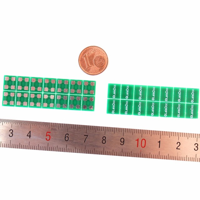 28PCS of 4-Point Junction Boards with 4 solder pads for wires connection 860024/LaisDcc Brand