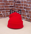 Winter New  Fashion Casual Women Knitted Beanies Rhinestone Lace Cat Ear Cap Warmer Beanies