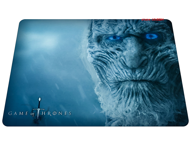hot Game of Thrones mouse pad Wholesale iceman mousepads gear gaming mouse pad gamer large personalized pad mouse keyboard pad