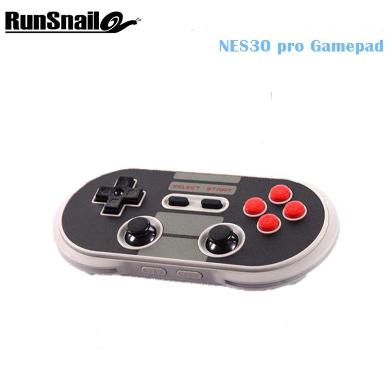 8Bitdo NES30 PRO Wireless Bluetooth Gamepad Controller Dual Classic Joystick Fidget Spinner for IOS Android Windows