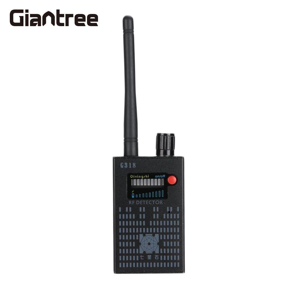 Moniteur Scanner noir téléphone portable Intelligent Anti surveillance détecteur Alufer GPS détecteur de Signal caméra 1 MHZ à 8000 MHz