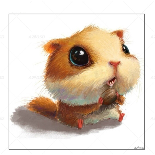 aliexpress com buy azqsd cute animal diamond painting cross stitch