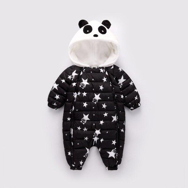 69cf4fb6341 BibiCola Newborn Boy Girl Winter Clothes Warm Baby Outerwear Kids Rompers  Down Parkas Children Winter Overalls Toddler Jumpsuit