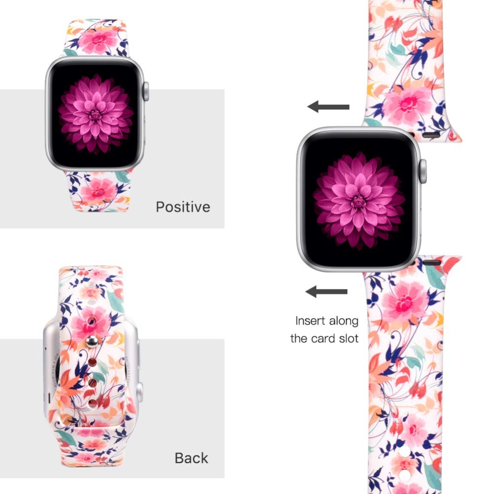 Floral Band for Apple Watch 300