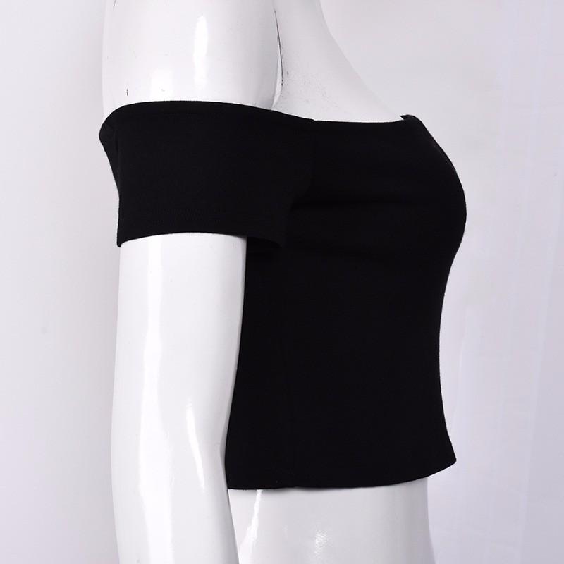 HTB1vnEmOFXXXXX6XVXXq6xXFXXXk - FREE SHIPPING Sexy V Neck Crop Top Short Sleeve Tube T Shirts JKP271