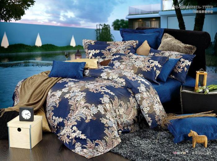 Luxury satin comforter bedding set king size queen egyptian cotton
