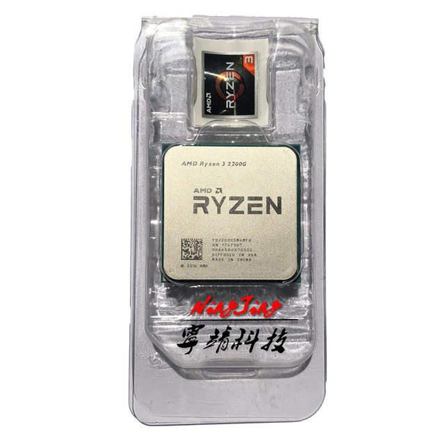 Online Shop Amd Ryzen 3 2200g R3 2200g R3 2200 3 5 Ghz Quad Core Cpu