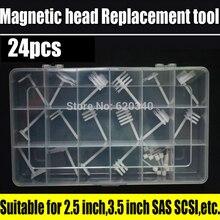 24/pcs Hard drive head replacement tool Hard disk repair