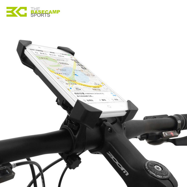 Iphone Holder For Bike >> Us 10 99 30 Off Basecamp Bicycle Phone Holder Bicycle Smartphone Holder For Xiaomi For Iphone For Samsung Handlebar Phone Supports Gps Holders In
