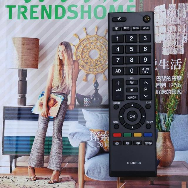 Home Smart LED TV Remote Control For TOSHIBA CT-90326 CT-90380 CT-90336 CT-90351 RC TV Remote 2