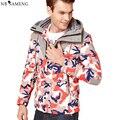 2016 Novos Homens de Pato Para Baixo Casaco Estande Inverno China Quente Dos Homens Jaqueta de Roupas de Marca Camuflagem Casacos Elegantes Tamanho M-3XL NSWT227
