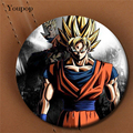 Youpop Japanese Anime DRAGON BALL Album Brooch 2016 New Pin Badge Accessories For Clothes Hat Backpack Decoration XZ0250