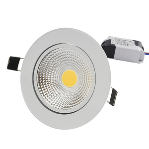 Image 5 - Super Bright Dimmable Led downlight COB Spot Light 5W 7W 9W 12W recessed led spot Lights Bulbs Indoor Lighting