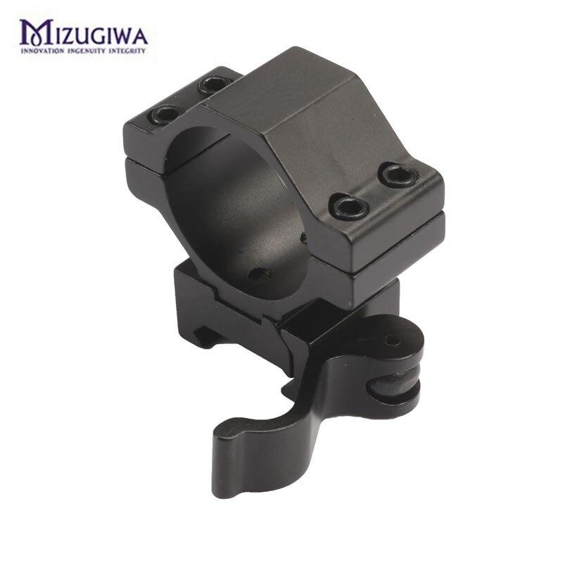 riflescope montagem 30mm 25.4mm anel tecelão se