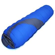 POINT BREAK 2016 High-quality SD-802-2 Portable Outdoor Camping Sleeping Bag Keep Warm Mummy Cotton Sleeping Bags