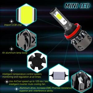 Image 5 - Bombillas para coche H4 H7, con Chip COB, minibombilla LED para coche, H1, 9006, hb4, hb3, 9005, H11, H7, LED H4, H11