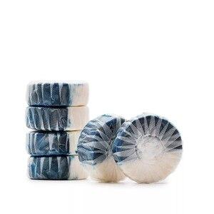 Image 5 - Youpin Clean n fresh блок для туалета с двойным эффектом, глубокое очищение, независимая анионная активная способность, Водорастворимая пленка, упаковка
