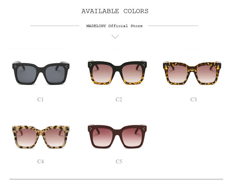 HTB1vnGfdbYI8KJjy0Faq6zAiVXat - MADELINY Fashion Sunglasses Women Vintage Brand Design Square Luxury Sun glasses Big Frame Shades Eyewear Oculos UV400 MA033