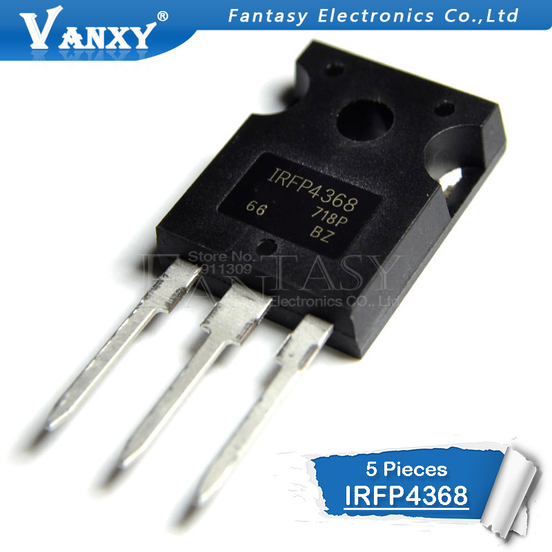5pcs IRFP4368 TO-247 IRFP4368PBF TO247 MOS FET Tube 75V 350A Large Current New Original