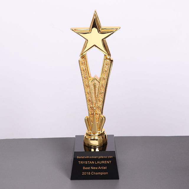 US $35 29 |Personalized Engraved Glass Awards Custom Trophies Personalised  Awards Etched Crystal Awards Custom Staff Awards-in Figurines & Miniatures