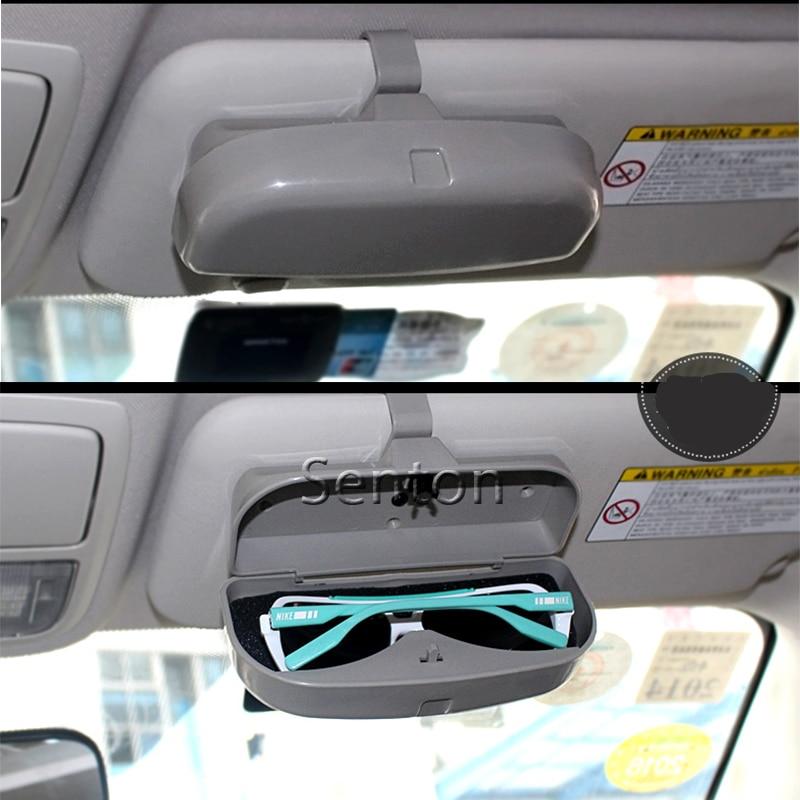 Car Glasses Box Case For Ford Focus 2 3 Fiesta Mondeo Kuga Citroen C4 C5 C3 Skoda Octavia 2 A7 A5 Rapid Fabia Superb Accessories