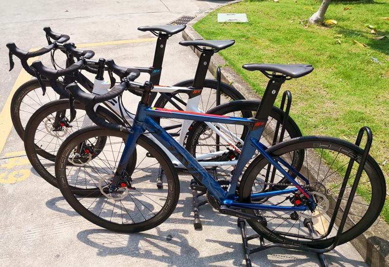 HTB1vnGrX8v0gK0jSZKbq6zK2FXar 2019 JAVA Siluro3 Aluminum Alloy Road Bike Double Disc Brake 18 Speed Road Bicycle SORA R3000 Shift System bike Carbon Fork