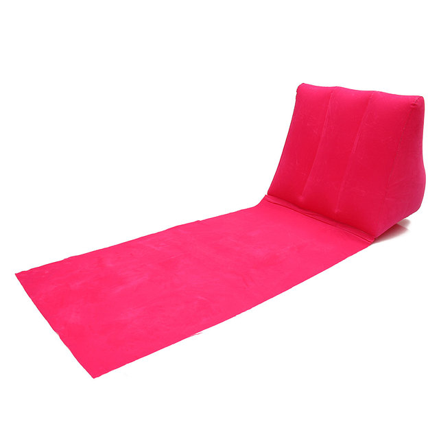 Hot Sale Inflatable Camping Mat Outdoor Cushion Chair Potable Sleeping Pad  Foldable Seat Folded Mattress Camping