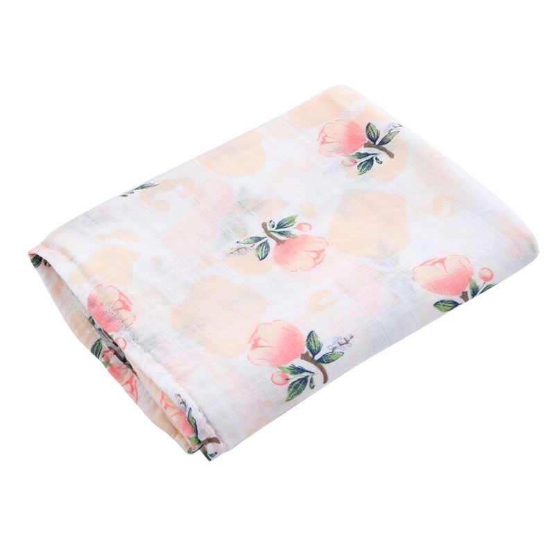 Manta de bebé de algodón suave multifunción muselina bebé mantas ropa de cama infantil Swaddle toalla para Recién Nacido Swaddle Manta