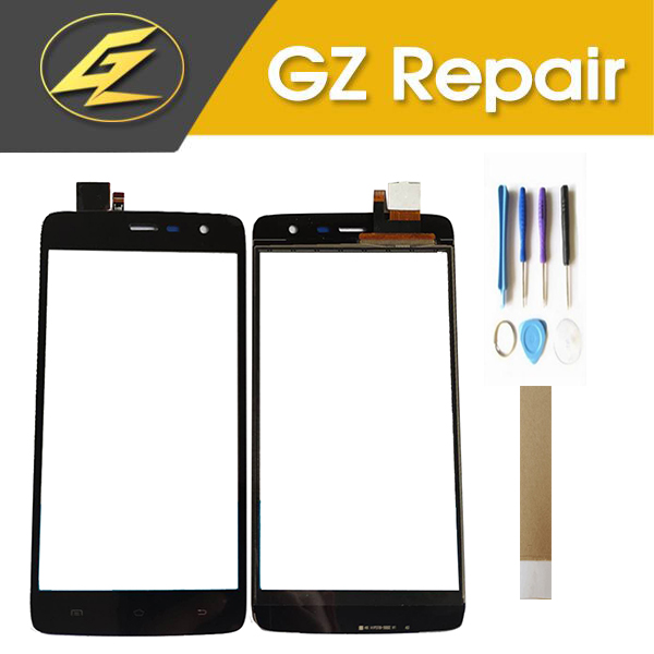 5.0 Inch Black Color For Vertex Impress Saturn Touch Screen Glass Digitizer Glass Sensor With Tools Tape