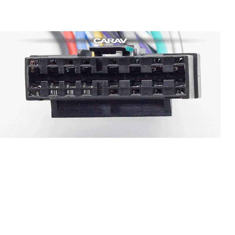 Coche de Radio estéreo Más reciente Jvc Kd-R871bt 16 pines arnés de cableado Telar ISO 2017 Modelos