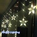 220В 3 М светодиодные строки свет Новый год внутреннее освещение гирлянда звезда моделирования светодиодные luminarias украшение рождества