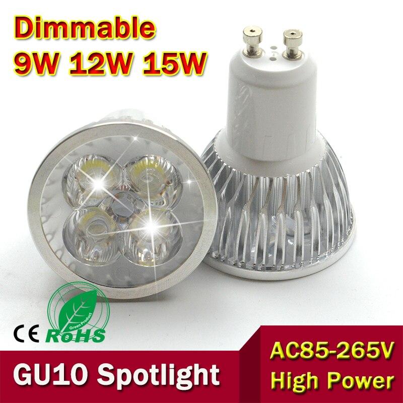 Led Bulbs & Tubes You 5pcs 2017 Super Bright Gu10 Bulbs Light Warm/white 12v 110v 220v 6w 9w 12w Gu10 Cob Led Lamp Light Gu10 Led Spotligh