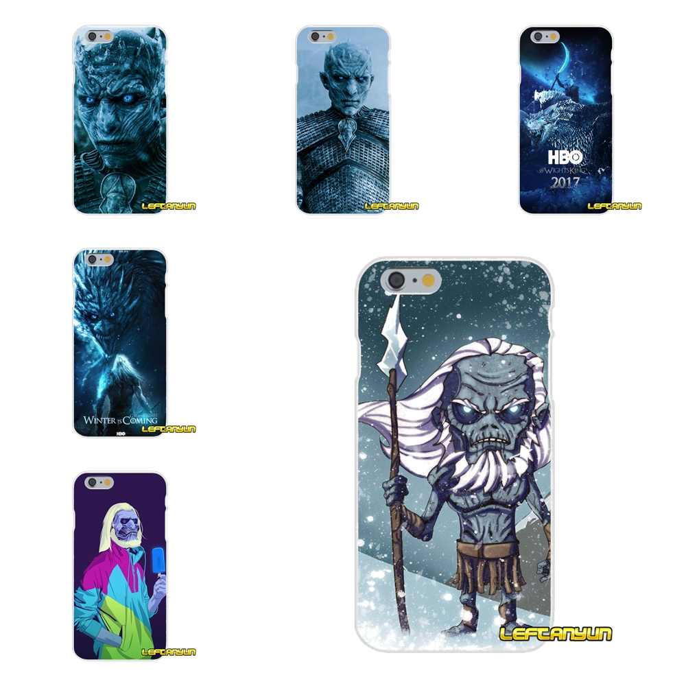 Thrones Game White Walker Soft Silicone phone Case For