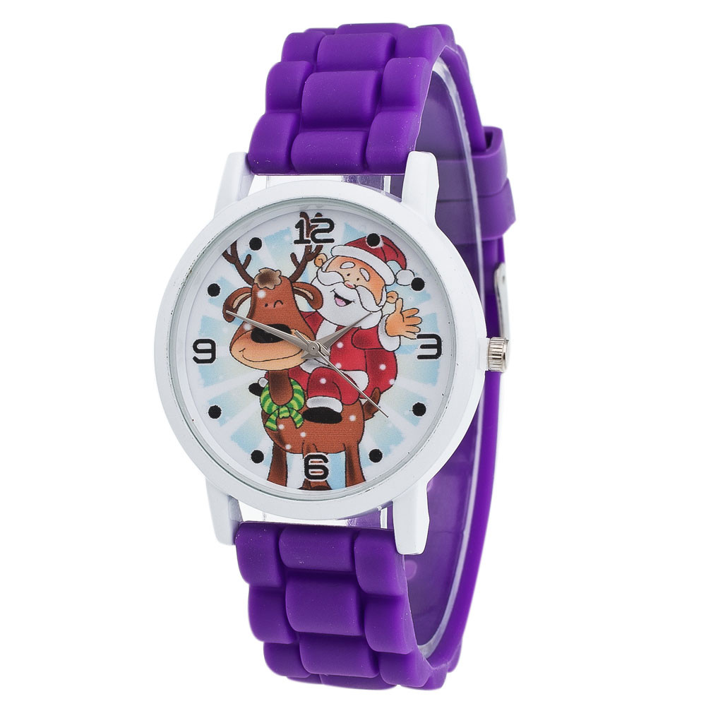 Fashion Cool Christmas Cartoon Watch For Children Girls Silicone Digital Watches For Kids Boys Christmas Gift Wristwatch@55