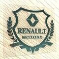 Insignia del coche de Metal etiqueta para Renault Koleos clio, Clio iv, escénica, megane, captur, Eolab ventana lateral auto del tronco de coche body styling emblema