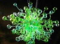 Бесплатная доставка AC светодиодные Симпатичные гриб Форма Стекло люстра декоративные огни домой
