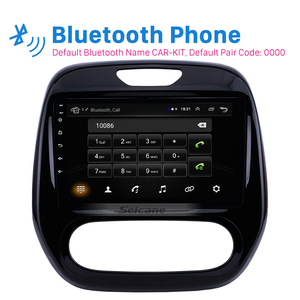 """Image 2 - Seicane Android 10.0 9"""" 2din Car Auto Radio For  Renault Captur CLIO Samsung QM3 Manual A/C 2011 2016 GPS Navigation with WIFI"""