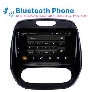 Image 2 - Seicane Android 2DIN samochodowy panel główny radio samochodowe odtwarzacz multimedialny gps dla Renault Captur CLIO Samsung QM3 instrukcja A/C 2011 2016