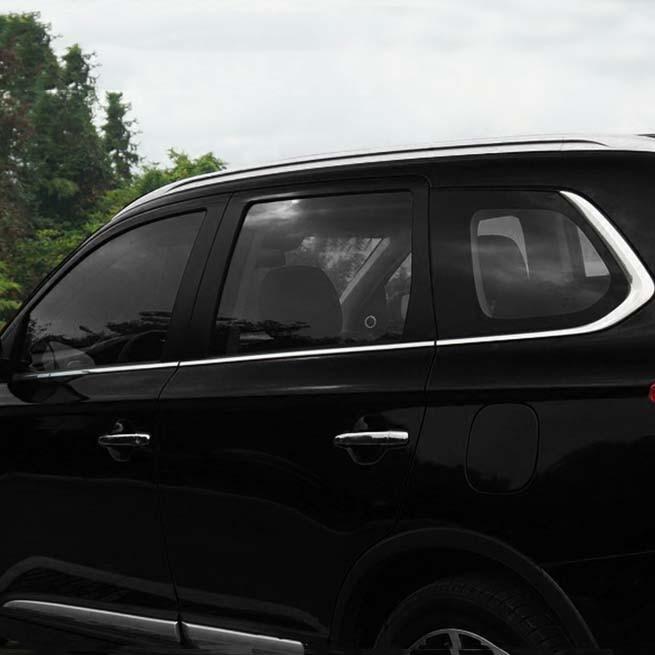 Für Mitsubishi Outlander 2014 2015 2016 2017 Edelstahl Chrom Fenster Säule Beiträge Abdeckung Zierleiste schmücken Schutz