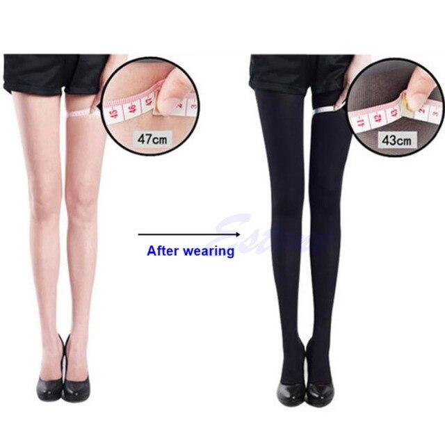 Mulheres de Slim Leg Beauty Forma Compressão Queimar Gordura Finas SocksPantyhose Estoque ing